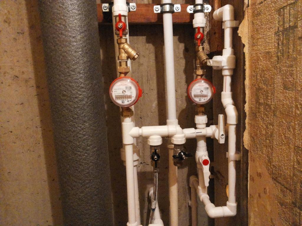 Схема установки водосчетчика в квартире фото 38